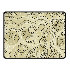 Floral decor  Double Sided Fleece Blanket (Small)