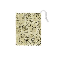 Floral decor  Drawstring Pouches (Small)
