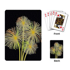 Dandelions Playing Card