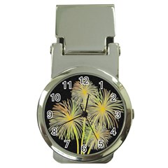 Dandelions Money Clip Watches