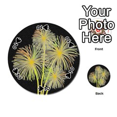 Dandelions Playing Cards 54 (Round)