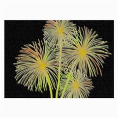 Dandelions Large Glasses Cloth