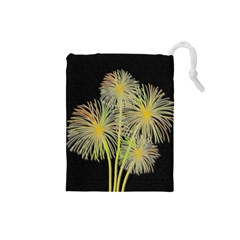 Dandelions Drawstring Pouches (Small)