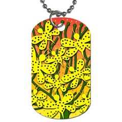 Bees Dog Tag (One Side)