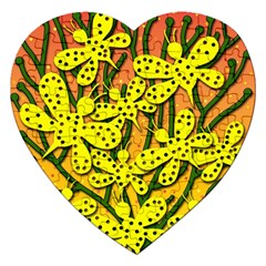 Bees Jigsaw Puzzle (Heart)