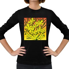 Bees Women s Long Sleeve Dark T-Shirts
