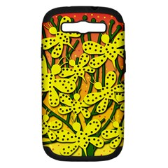 Bees Samsung Galaxy S III Hardshell Case (PC+Silicone)