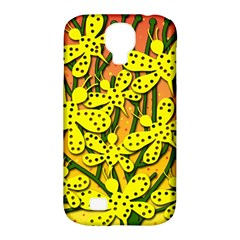 Bees Samsung Galaxy S4 Classic Hardshell Case (PC+Silicone)