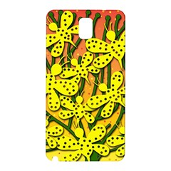 Bees Samsung Galaxy Note 3 N9005 Hardshell Back Case