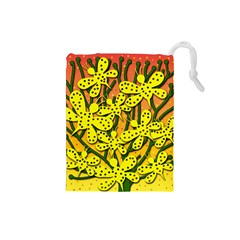 Bees Drawstring Pouches (Small)