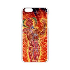 The Biology Of Kundalini Apple Seamless iPhone 6/6S Case (Transparent)