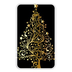 Decorative Starry Christmas Tree Black Gold Elegant Stylish Chic Golden Stars Memory Card Reader