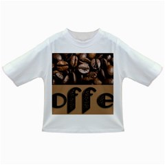 Funny Coffee Beans Brown Typography Infant/Toddler T-Shirts