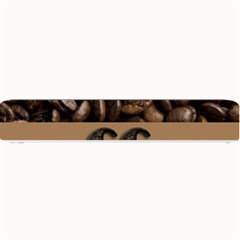 Funny Coffee Beans Brown Typography Small Bar Mats