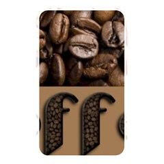 Funny Coffee Beans Brown Typography Memory Card Reader