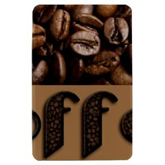 Funny Coffee Beans Brown Typography Kindle Fire (1st Gen) Hardshell Case