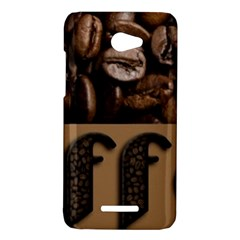 Funny Coffee Beans Brown Typography HTC Butterfly X920E Hardshell Case