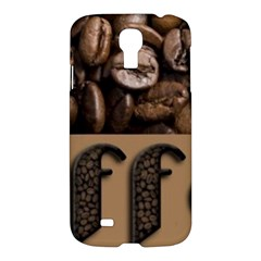 Funny Coffee Beans Brown Typography Samsung Galaxy S4 I9500/I9505 Hardshell Case