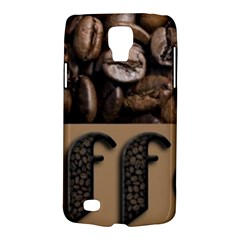 Funny Coffee Beans Brown Typography Galaxy S4 Active