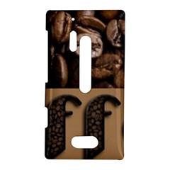 Funny Coffee Beans Brown Typography Nokia Lumia 928