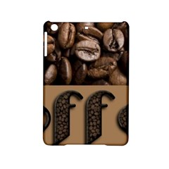 Funny Coffee Beans Brown Typography iPad Mini 2 Hardshell Cases