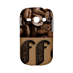 Funny Coffee Beans Brown Typography Samsung Galaxy S6810 Hardshell Case