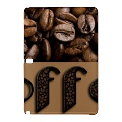 Funny Coffee Beans Brown Typography Samsung Galaxy Tab Pro 10.1 Hardshell Case