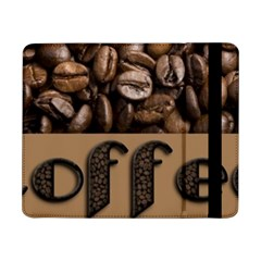 Funny Coffee Beans Brown Typography Samsung Galaxy Tab Pro 8.4  Flip Case