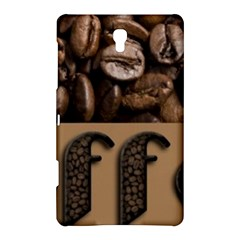 Funny Coffee Beans Brown Typography Samsung Galaxy Tab S (8.4 ) Hardshell Case