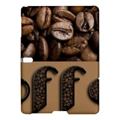 Funny Coffee Beans Brown Typography Samsung Galaxy Tab S (10.5 ) Hardshell Case