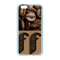 Funny Coffee Beans Brown Typography Apple Seamless iPhone 6/6S Case (Color)