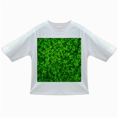 Shamrock Clovers Green Irish St  Patrick Ireland Good Luck Symbol 8000 Sv Infant/Toddler T-Shirts