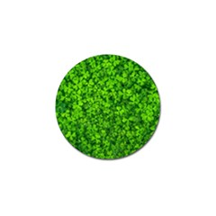 Shamrock Clovers Green Irish St  Patrick Ireland Good Luck Symbol 8000 Sv Golf Ball Marker (10 Pack)