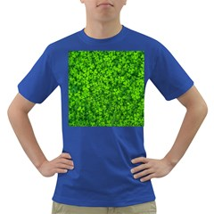 Shamrock Clovers Green Irish St  Patrick Ireland Good Luck Symbol 8000 Sv Dark T Shirt