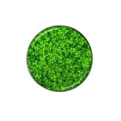 Shamrock Clovers Green Irish St  Patrick Ireland Good Luck Symbol 8000 Sv Hat Clip Ball Marker (4 Pack)