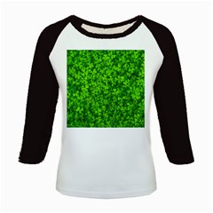 Shamrock Clovers Green Irish St  Patrick Ireland Good Luck Symbol 8000 Sv Kids Baseball Jerseys