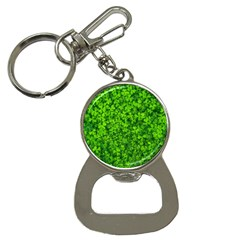 Shamrock Clovers Green Irish St  Patrick Ireland Good Luck Symbol 8000 Sv Bottle Opener Key Chains