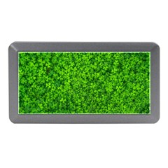 Shamrock Clovers Green Irish St  Patrick Ireland Good Luck Symbol 8000 Sv Memory Card Reader (mini)