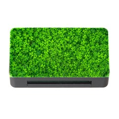 Shamrock Clovers Green Irish St  Patrick Ireland Good Luck Symbol 8000 Sv Memory Card Reader With Cf