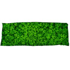 Shamrock Clovers Green Irish St  Patrick Ireland Good Luck Symbol 8000 Sv Body Pillow Case Dakimakura (Two Sides)