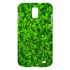 Shamrock Clovers Green Irish St  Patrick Ireland Good Luck Symbol 8000 Sv Samsung Galaxy S II Skyrocket Hardshell Case