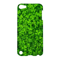 Shamrock Clovers Green Irish St  Patrick Ireland Good Luck Symbol 8000 Sv Apple iPod Touch 5 Hardshell Case