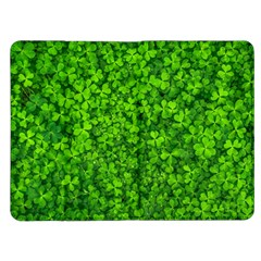 Shamrock Clovers Green Irish St  Patrick Ireland Good Luck Symbol 8000 Sv Kindle Fire (1st Gen) Flip Case