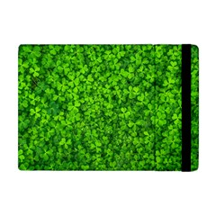 Shamrock Clovers Green Irish St  Patrick Ireland Good Luck Symbol 8000 Sv Apple iPad Mini Flip Case