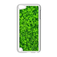 Shamrock Clovers Green Irish St  Patrick Ireland Good Luck Symbol 8000 Sv Apple Ipod Touch 5 Case (white)