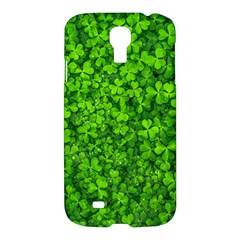 Shamrock Clovers Green Irish St  Patrick Ireland Good Luck Symbol 8000 Sv Samsung Galaxy S4 I9500/i9505 Hardshell Case