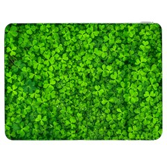 Shamrock Clovers Green Irish St  Patrick Ireland Good Luck Symbol 8000 Sv Samsung Galaxy Tab 7  P1000 Flip Case