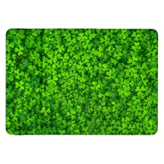 Shamrock Clovers Green Irish St  Patrick Ireland Good Luck Symbol 8000 Sv Samsung Galaxy Tab 8 9  P7300 Flip Case