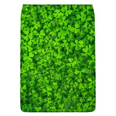 Shamrock Clovers Green Irish St  Patrick Ireland Good Luck Symbol 8000 Sv Flap Covers (l)