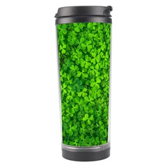 Shamrock Clovers Green Irish St  Patrick Ireland Good Luck Symbol 8000 Sv Travel Tumbler